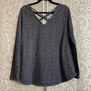 12PM by Mon Ami Navy Pullover Size Large